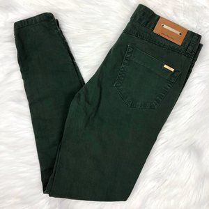 Zara Basic Jeans Denim Skinny Leg Green Size 4